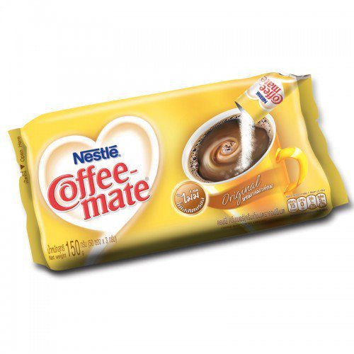 Nestle Coffee-Mate Coffee Creamer Original yellow Color 3 g 50 Sachets (Mr Coffee Airpot compare prices)