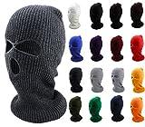 Enimay Three Hole Ski Snowboard Mask Winter Beanie Balaclavas (Many Colors Available)