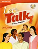 Let's Talk Student's Book 1 with Self-Study Audio CD (Let's Talk (Cambridge)) (0521692814) by Jones, Leo