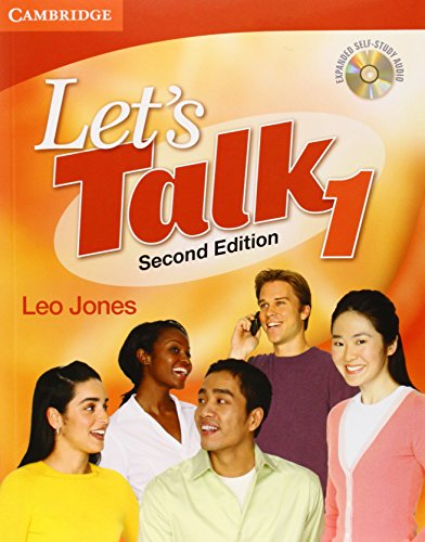 Let's Talk 2nd Student's Book 1 with Self-Study Audio CD (Let's Talk (Cambridge))