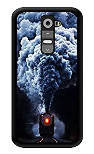 "Humor Gang Steam Train Printed Designer Mobile Back Cover For ""LG G2"" (3D, Glossy, Premium Quality Snap On Case)"
