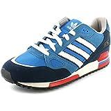 New Mens/Gents Blue/White Adidas Leather Lightweight Running Shoes - Bluebird/White - UK SIZES 6-10.
