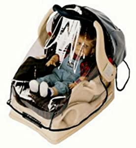 sashas wrap around rain and wind cover for infant carrier car seat child safety. Black Bedroom Furniture Sets. Home Design Ideas