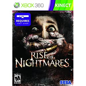 Rise of Nightmares Video Game for Xbox 360