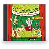 Vier neue Minimusicals zur Advents- und Weihnachtszeit: Playback-CD