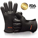 ★The Best Heat Resistant Silicone BBQ Grill Gloves★ #1 BBQ Gloves, Grill Gloves, Oven Mitt, Potholder and Cooking Gloves. Highest Quality Brand on the Market Today! Hassle Free Lifetime Guarantee! Best Design. THERMOHANDS