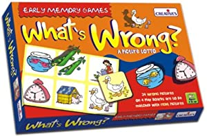 Creative Educational Pre-School What's Wrong