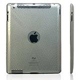 【全3色】iPad 2 用 TPU ケース 渦巻き柄 クリア TPU Case For iPad 2(683-1)