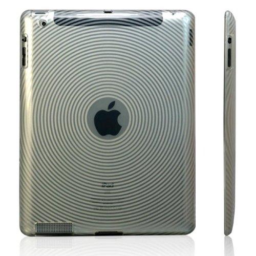 【全3色】iPad+2+用+TPU+ケース 渦巻き柄 クリア+TPU+Case+For+iPad+2(683-1)