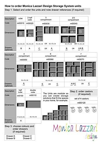 MLD Type B, timbres, tiroir de rangement Beige
