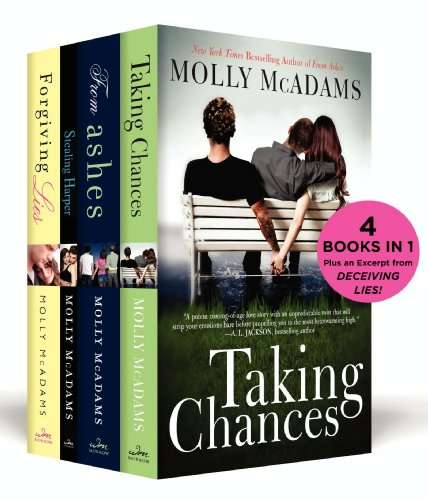The Molly McAdams New Adult Boxed Set: Taking Chances, From Ashes, Stealing Harper, Forgiving Lies, and an excerpt from Deceiving Lies PDF