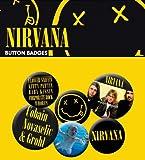 GB eye Nirvana Smiley Badge Pack