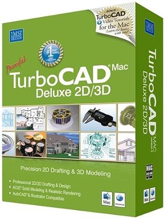 TurboCAD Mac Deluxe v5 2D/3D
