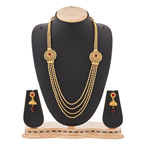 RG-FASHIONS-GOLD-PLATED-SOUTH-INDIAN-FOUR-STRINGS-NECKLACE-SET