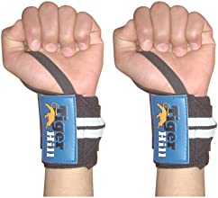 Weight Lifting Wrist Wraps 14 Inches  One Pair  Blackwhite Buy Two Get One Free