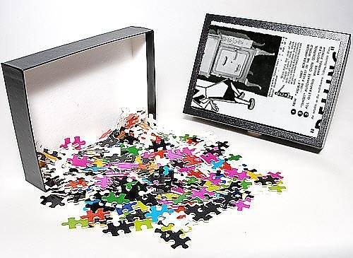 Photo Jigsaw Puzzle Of Advert For Electric Cookers By Belling 1931