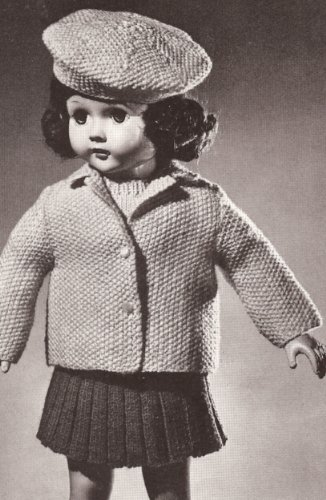 Knitting Patterns For Bratz Doll Clothes : Vintage Knitting Patterns for Dolls