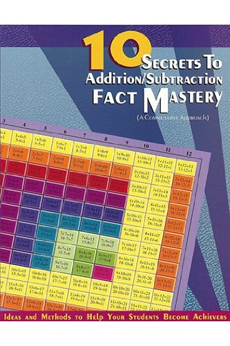 10 Secrets to Addition & Subtraction Mastery Teacher Edition - 1