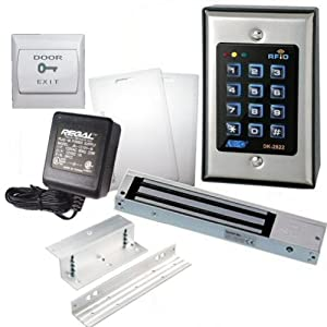 Amazon Com Rfid Backlit Keypad Set Including 600lbs