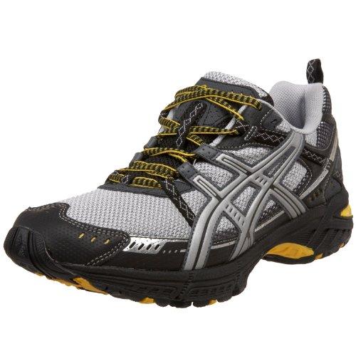 ASICS Men's GEL Frantic 5 Running Shoe,BlackLiquid Silver