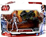 Star Wars The Clone Wars Deluxe AT-RT with ARF Trooper