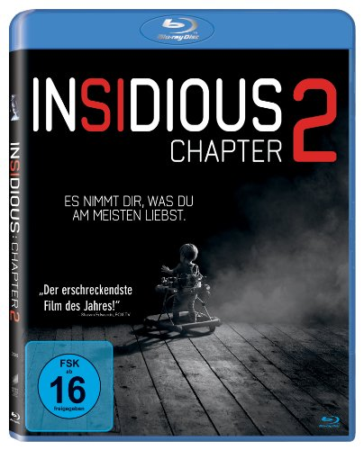 Insidious: Chapter 2 (inkl. Digital Ultraviolet) [Blu-ray]