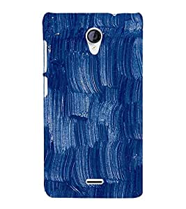 Brush Painting design 3D Hard Polycarbonate Designer Back Case Cover for Micromax Canvas Unite 2 A106