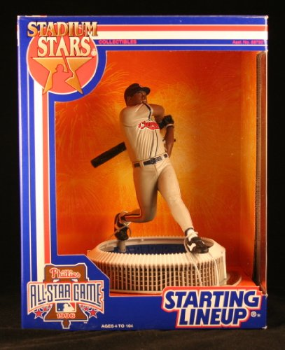 ALBERT BELLE / CLEVELAND INDIANS 1996 MLB Stadium Stars Starting Lineup Deluxe 6 Inch Figure with 1996 All-Star Game Veterans Stadium Display Base