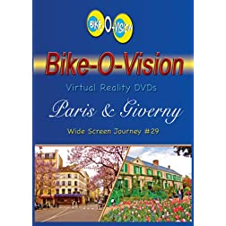 Bike-O-Vision Cycling Journey- Paris & Giverny (BLU Ray #29) [Blu-ray]