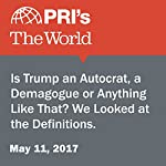 Is Trump an Autocrat, a Demagogue or Anything Like That? We Looked at the Definitions.   Christopher Woolf