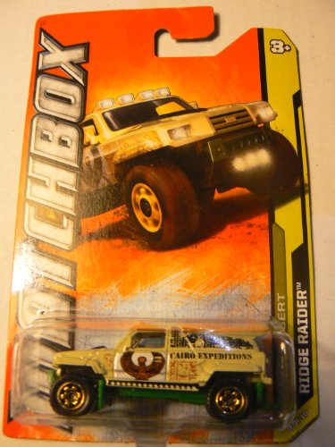 Matchbox Mbx Desert Ridge Raider 8 of 10