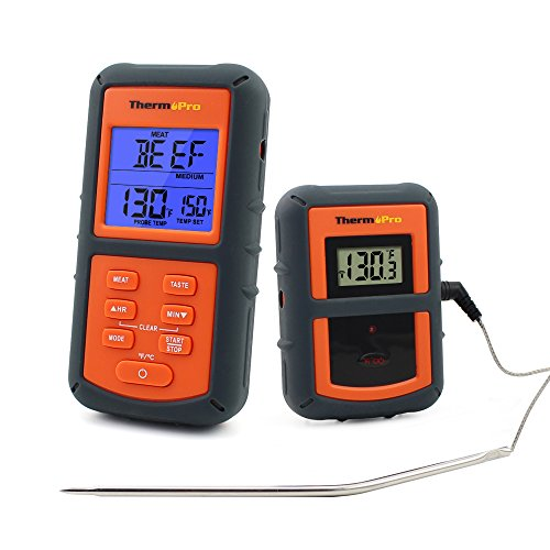 ThermoPro TP-07 300 feet Range Wireless Thermometer -