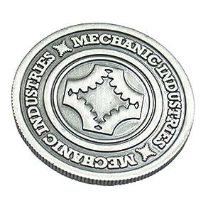 MMS Full Dollar Coin (Gun Metal Grey) by Mechanic Industries - Trick