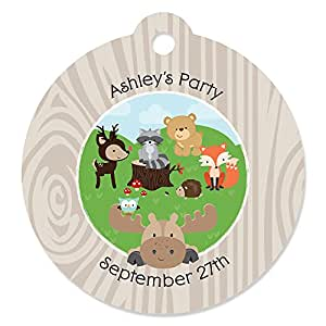 baby shower tags woodland creatures toys games