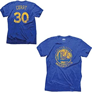 Majestic Threads Golden State Warriors Stephen Curry Triblend T-Shirt by Industry Rag