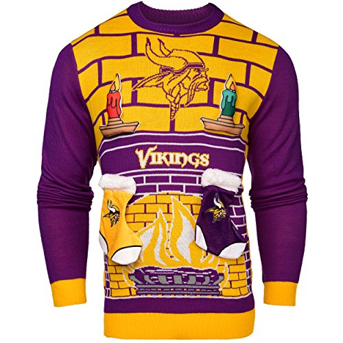 NFL Minnesota Vikings Ugly 3D Sweater