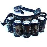 Dazzling Toys Redneck Beer and Soda Can Holster Belt, Camouflage - Holds 6 Beverages