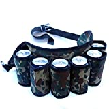 Dazzling Toys - Redneck Beer and Soda Can Holster Belt, Camouflage