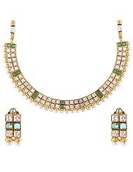 Bhagwathi Antique Necklace Set (BGPS009)