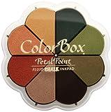 Clearsnap Colorbox Fluid Chalk Petal Point Option Inkpad, Autumn Pastels, 8 Colors Per Pad
