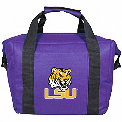 LSU Tigers 12 Pack Insulated Cooler Bag Kolder