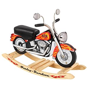See KidKraft Harley Davidson Roaring Softail Rocker Full size and View details