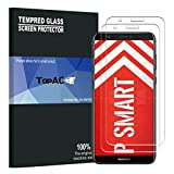 Huawei P Smart Screen Protector, TopACE 9H Hardness [Case Friendly][Anti-Scratch][Bubble Free] Tempered Glass for Huawei P Smart / Enjoy 7S (2 Pack)