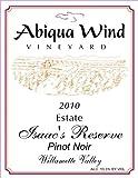 2010 Abiqua Wind Vineyard Isaac's Reserve Pinot Noir Williamette Valley Estate 750 ml