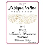 2010 Abiqua Wind Vineyard Isaac's Reserve Pinot Noir Williamette Valley Estate 750 ml