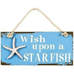 Ohio Wholesale Starfish Wish Sign by Ohio Wholesale
