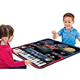Best Choice Products Kids Toy Music Play Together Piano Drum Set Playmat Great Gift