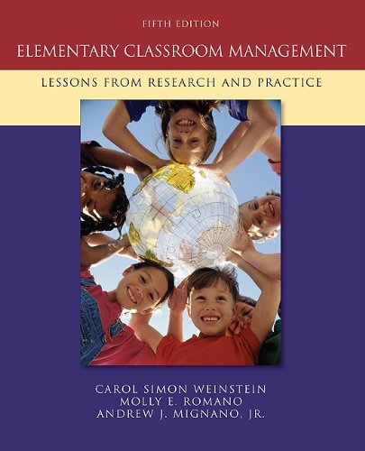 Elementary Classroom Management: Lessons from Research...