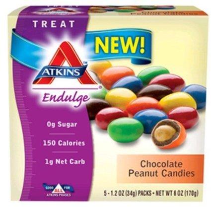 ATKINS ENDULGE CANDY,CHOC PNUT, 5/1.2 OZ