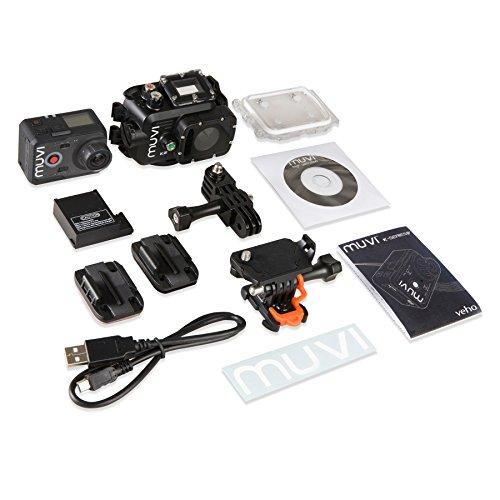 Veho VCC-006-K2 - Videocámara subacuática (16 Mp, 84 g), negro (importado) 141.98€